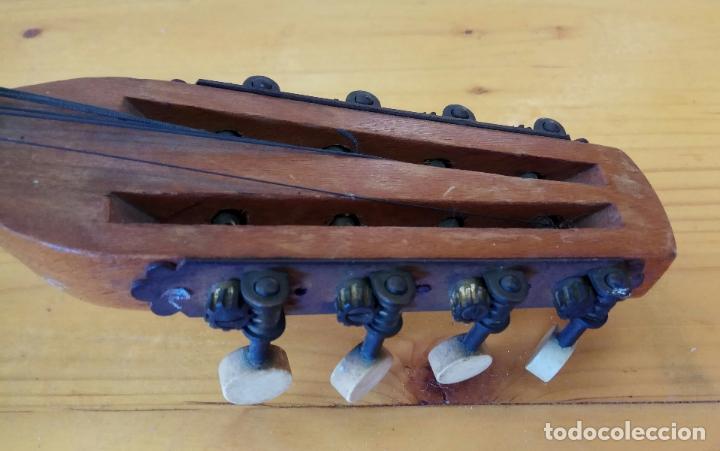 Instrumentos musicales: ANTIGUO BANJO-MANDOLINE VINCENT JACOBACCI FRANCIA 8 CUERDAS - Foto 10 - 178598850