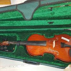 Instrumentos musicales: VIOLA 15 PULGADAS MARCA KREUTHZER SCHOOL CON SOPORTE CUELLO. Lote 178604261