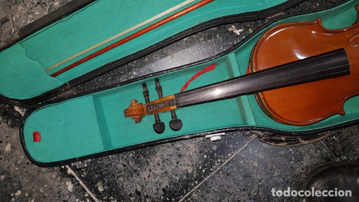 Instrumentos musicales: violin en caja - Foto 3 - 178604700