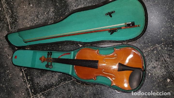 VIOLIN EN CAJA (Música - Instrumentos Musicales - Cuerda Antiguos)