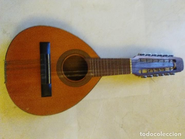 BANDURRIA (Música - Instrumentos Musicales - Guitarras Antiguas)
