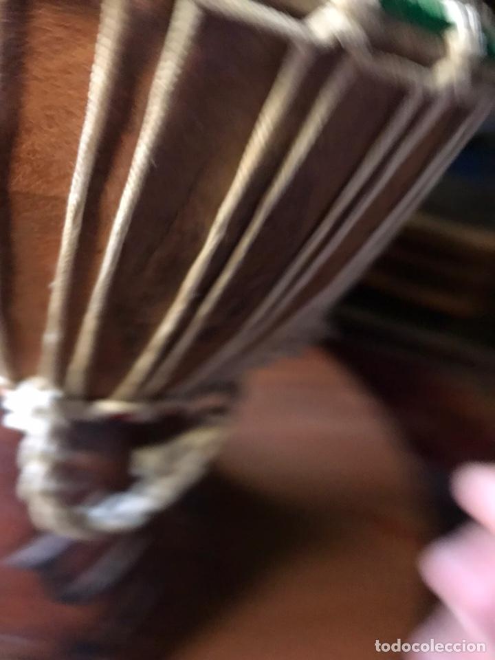 Instrumentos musicales: Djembe de madera Africano antiguo - Foto 5 - 178821501