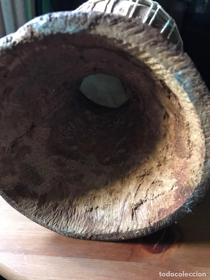 Instrumentos musicales: Djembe de madera Africano antiguo - Foto 6 - 178821501