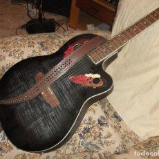 Instrumentos musicales: BONITA Y ORIGINAL GUITARRA ACUSTICA. Lote 178855505