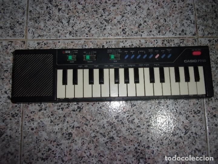 PIANO CASIO PT-10 - ESTADO USADO. (Música - Instrumentos Musicales - Teclados Eléctricos y Digitales)