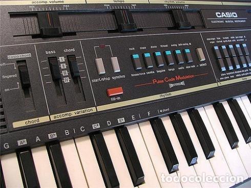Instrumentos musicales: GRAN PIANO ELECTRONICO, CAASSIOTONE MT 210 - Foto 3 - 179137030