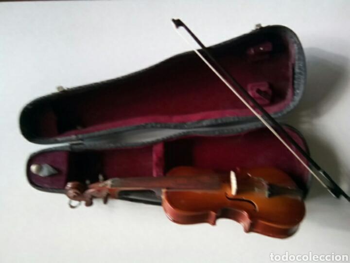 Instrumentos musicales: Bonito violín en miniatura.Decorativo . - Foto 4 - 179199693