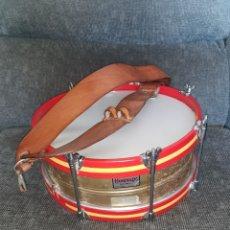 Instrumentos musicales: TAMBOR PROFESIONAL HONSUY. 38 CM. LATÓN.. Lote 179247335