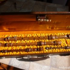 Instrumentos musicales: JUEGO DE 4 FLAUTAS HEINRICH. Lote 179525507