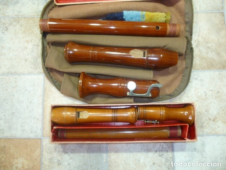 FLAUTAS TENOR Y ALTO HEINRICH (Música - Instrumentos Musicales - Viento Madera)