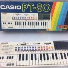 Instrumentos musicales: CASIO PT-80 EN CAJA Y SIN USAR (NO ENCIENDE). Lote 179947502