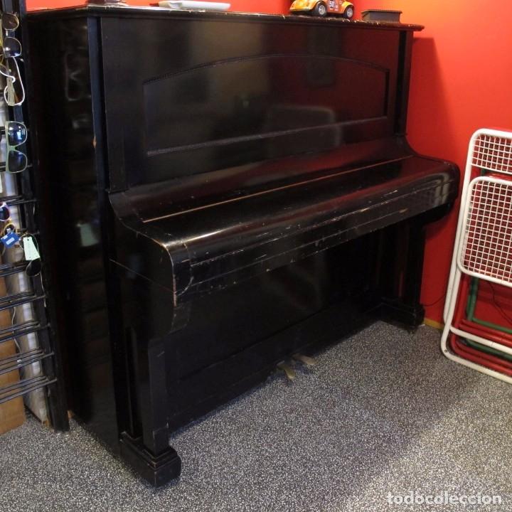 PIANO MURAL ALEMAN PRINCIPIOS DEL SIGLO XIX (Música - Instrumentos Musicales - Pianos Antiguos)