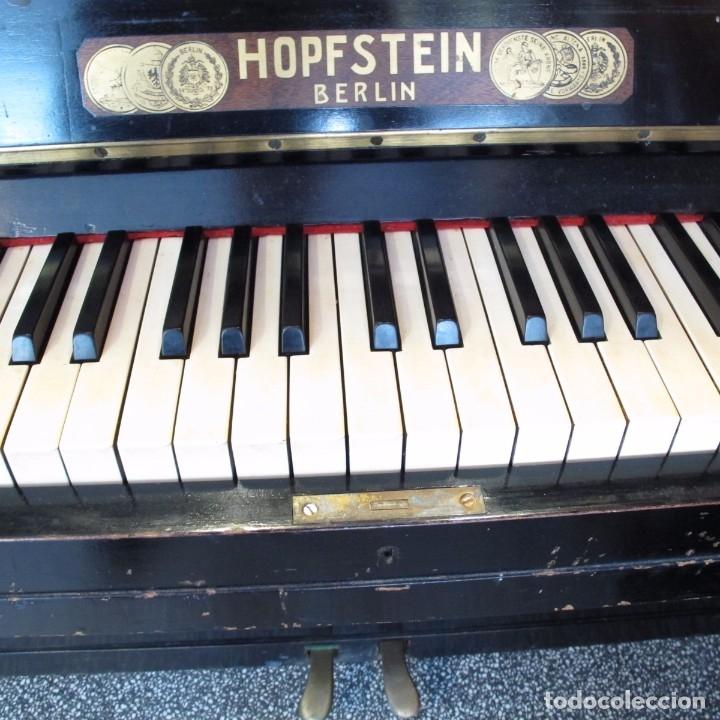 Instrumentos musicales: piano mural aleman principios del siglo xix - Foto 6 - 180018255