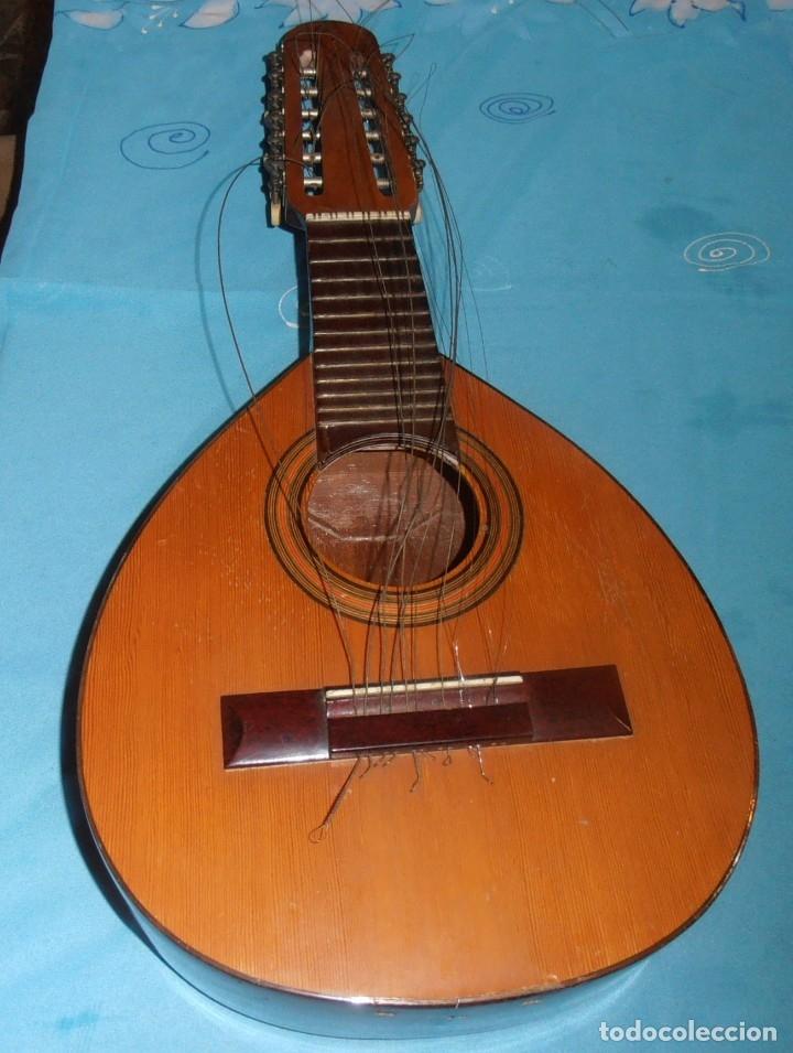 Instrumentos musicales: BANDURRIA, ANTIGUA - Foto 14 - 180196248