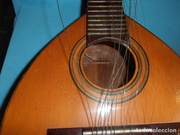 Instrumentos musicales: BANDURRIA, ANTIGUA - Foto 15 - 180196248