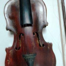 Instrumentos musicales: ANTIGUO VIOLÍN CON ARCO. Lote 180267028