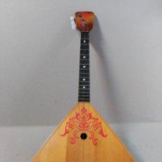 Instrumentos musicales: BALALAICA EN MADERA, INSTRUMENTO DE CUERDA. Lote 180331983