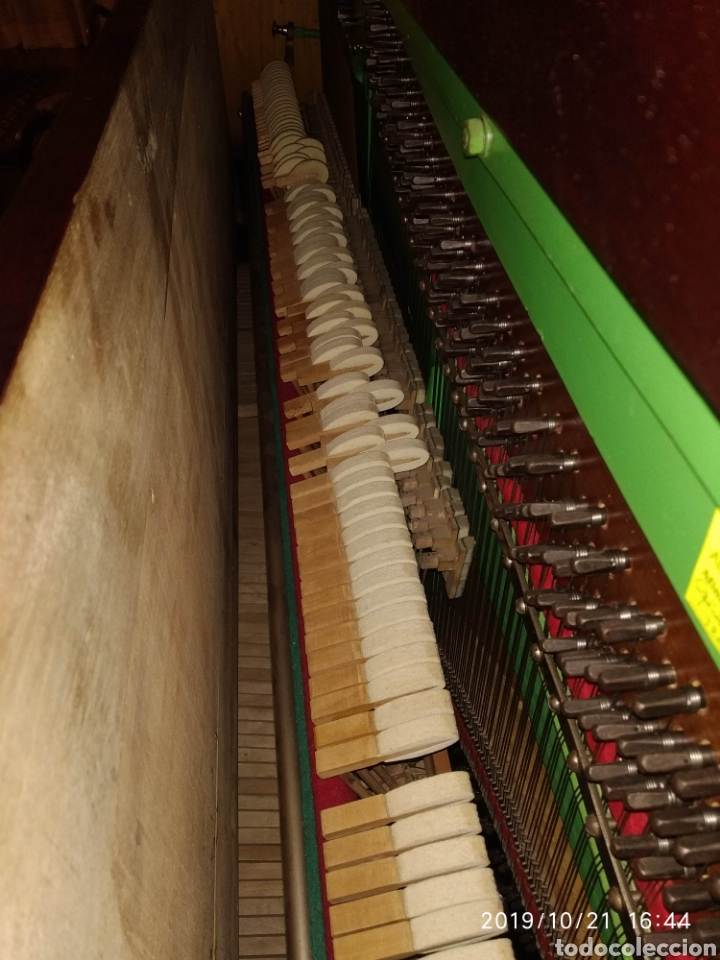 Instrumentos musicales: Piano antiguo Hijos de S. Ribalta - Foto 4 - 180388923