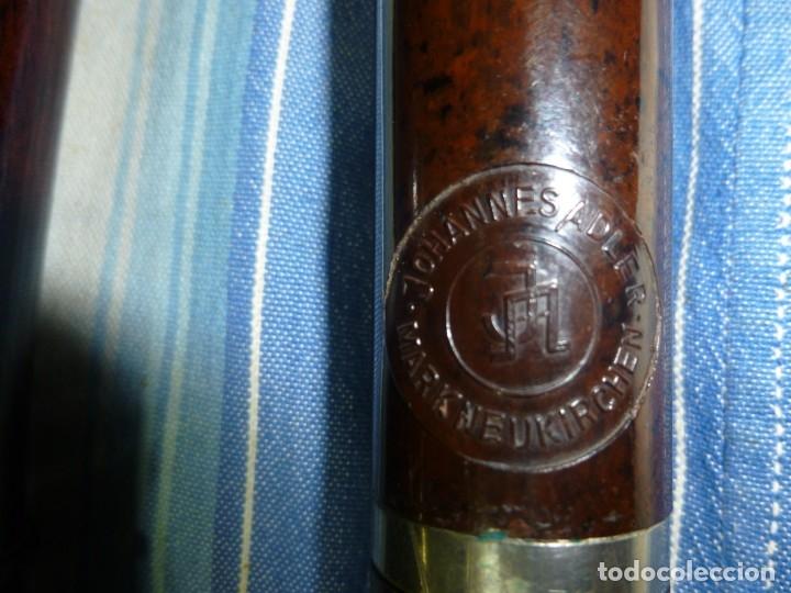 Instrumentos musicales: 1-lote 3 flautas de palisandro tenor,alto y soprano - Foto 5 - 180408085