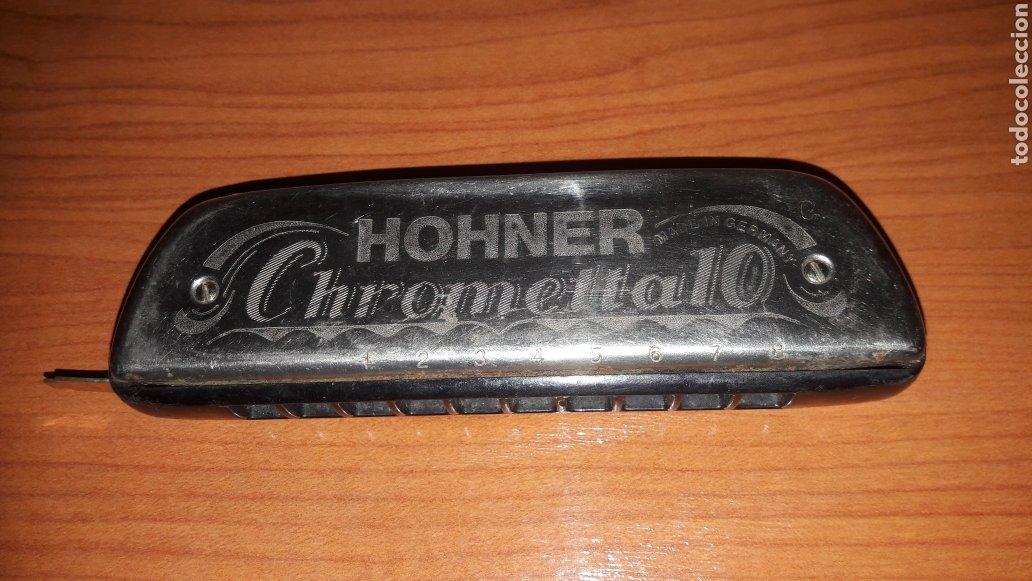 BONITA ARMÓNICA HONNER CHROMETTA 10 (Música - Instrumentos Musicales - Viento Metal)