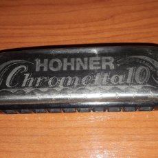 Instrumentos musicales: BONITA ARMÓNICA HONNER CHROMETTA 10. Lote 180927997