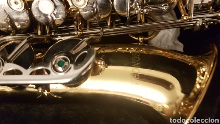 Instrumentos musicales: Saxo .saxophone sonora - Foto 2 - 181417531