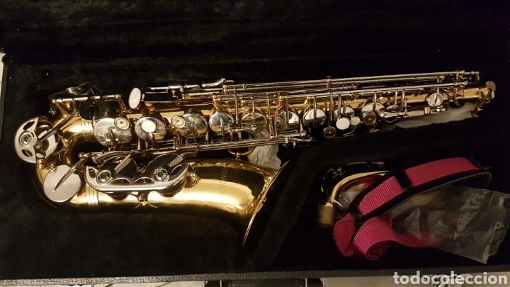 Instrumentos musicales: Saxo .saxophone sonora - Foto 3 - 181417531