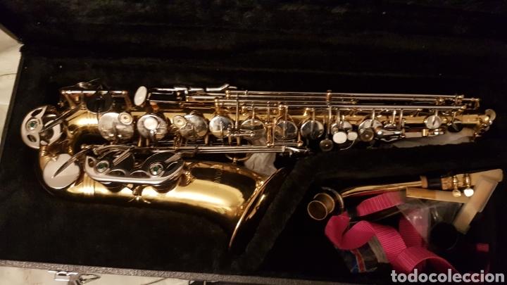 Instrumentos musicales: Saxo .saxophone sonora - Foto 6 - 181417531