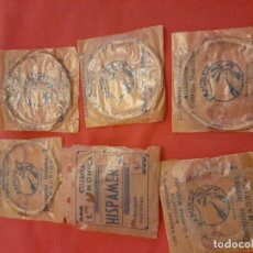 Instrumentos musicales: LOTE DE 6 CUERDAS MUSICALES. Lote 181581292