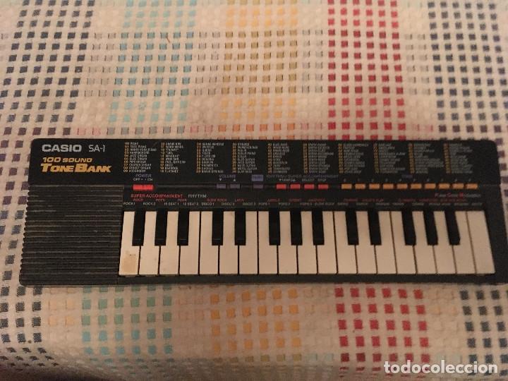 PIANO CASIO SA 1 100 SOUND TONE BANK KREATEN (Música - Instrumentos Musicales - Pianos Antiguos)