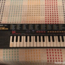 Instrumentos musicales: PIANO CASIO SA 1 100 SOUND TONE BANK KREATEN. Lote 181951328
