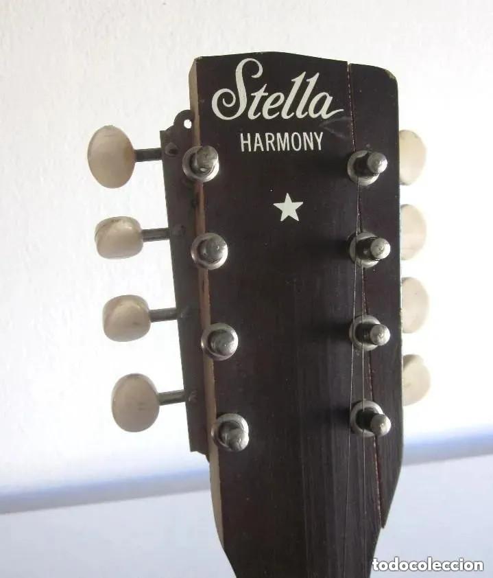 ANTIGUA MANDOLINA STELLA HARMONY MODELO H331 USA CHICAGO NÚMERO SERIE 5731H331 AÑOS 50 - 60 (Música - Instrumentos Musicales - Cuerda Antiguos)