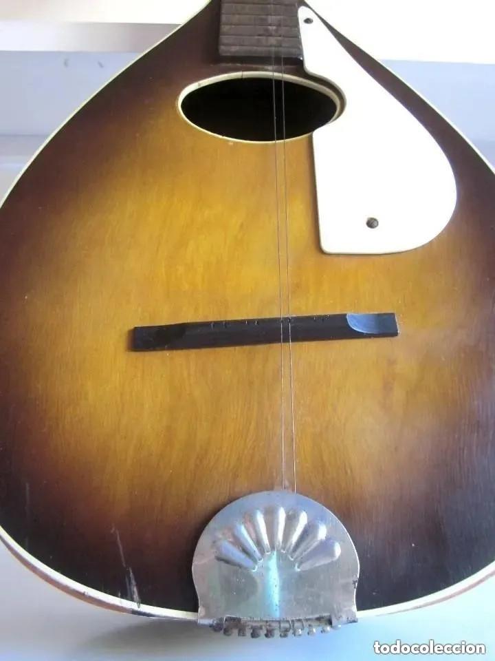 Instrumentos musicales: Antigua Mandolina Stella Harmony modelo H331 USA Chicago número serie 5731H331 años 50 - 60 - Foto 3 - 182162585