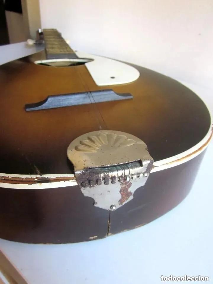 Instrumentos musicales: Antigua Mandolina Stella Harmony modelo H331 USA Chicago número serie 5731H331 años 50 - 60 - Foto 5 - 182162585