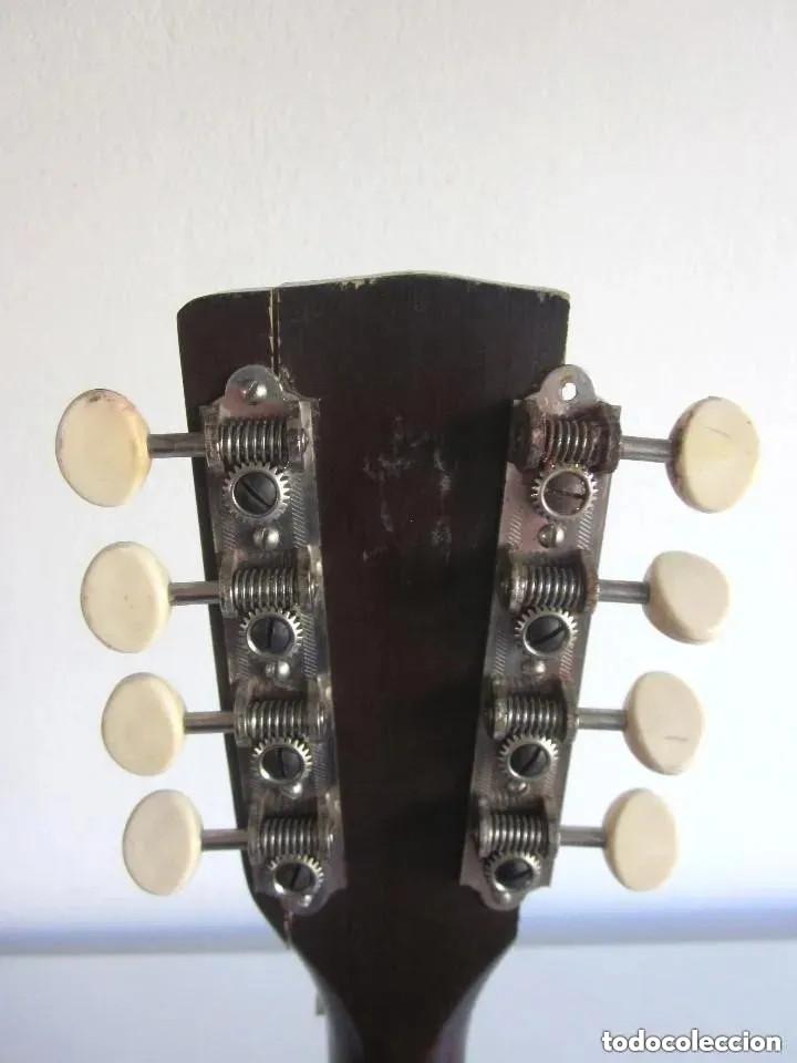 Instrumentos musicales: Antigua Mandolina Stella Harmony modelo H331 USA Chicago número serie 5731H331 años 50 - 60 - Foto 7 - 182162585