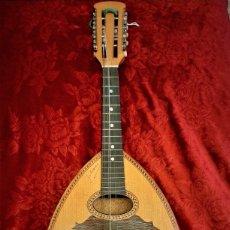 Instrumentos musicales: MANDOLINA ITALIANA HISTÓRICA GALIANO. Lote 182303200
