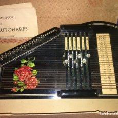 Instrumentos musicales: CÍTARA ALEMANA. AUTOHARP ARPA. AÑO 1918. EXCELENTE ESTADO, COMPLETA. Lote 182584243