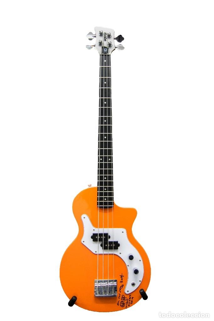 BAJO PERSONALIZADO ORANGE, HARD ROCK CAFE (Música - Instrumentos Musicales - Guitarras Antiguas)