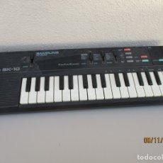 Instrumentos musicales: CASIO SK10 NO FUNCIONA PARA PIEZAS. Lote 182710278
