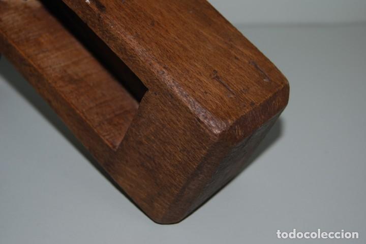 Instrumentos musicales: ANTIGUA MATRACA DE MADERA - CARRACA - INSTRUMENTO TRADICIONAL - CASTILLA - SEMANA SANTA - MISA - Foto 9 - 182716733