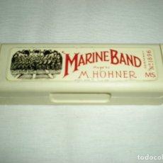 Instrumentos musicales: ANTIGUA ARMÓNICA M.HOHNER MARINE BAND SELLADA. Lote 182882190