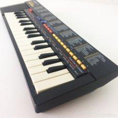 Instrumentos musicales: TECLADO ÓRGANO CASIO SA-1 100 SOUND TONE BANK NEGRO. Lote 182902301