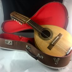 Instrumentos musicales: ANTIGUO LAUD O BANDURRIA CON SU FUNDA -(19332). Lote 182904816