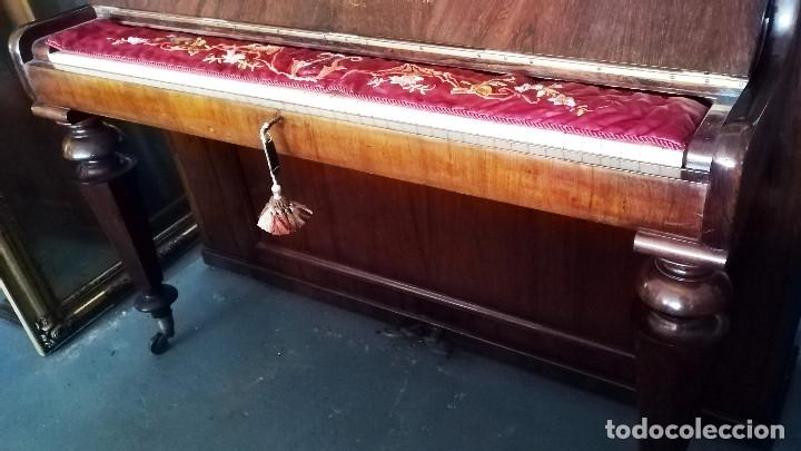 Instrumentos musicales: PIANO DE PARED PATENTE ERARD LONDRES - Foto 13 - 182972555
