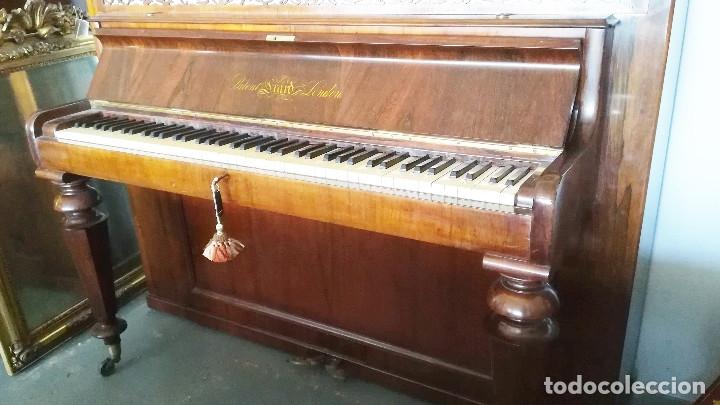 Instrumentos musicales: PIANO DE PARED PATENTE ERARD LONDRES - Foto 15 - 182972555