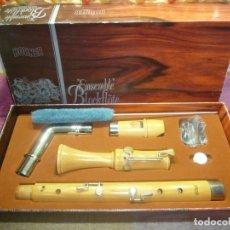 Instrumentos musicales: FLAUTA BAJO DE CODO HOHNER. Lote 182986942