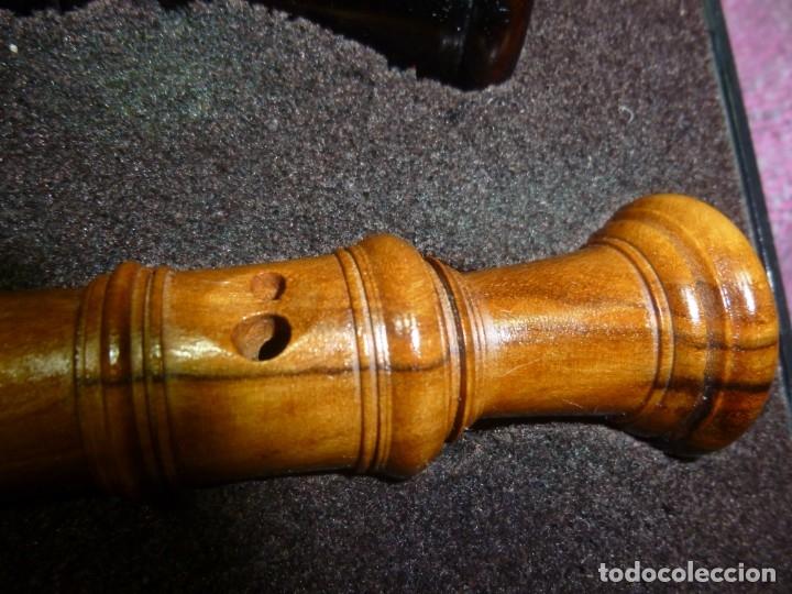 Instrumentos musicales: Flautas alto y soprano Roessler de granadillo y buruta - Foto 5 - 182988136
