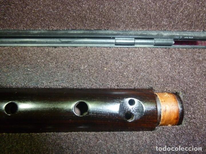 Instrumentos musicales: Flautas alto y soprano Roessler de granadillo y buruta - Foto 6 - 182988136