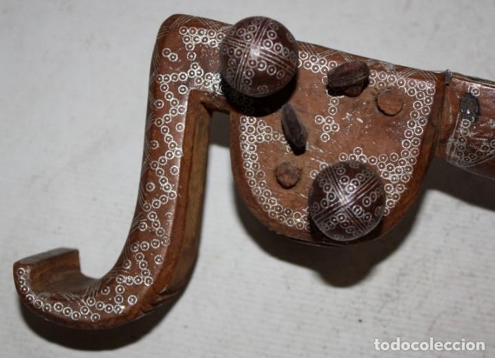 Instrumentos musicales: LAÚD DE AFGANISTAN - INCRUSTACIONES - MADERA - PERGAMINO - ARTESANO. - Foto 7 - 183042073