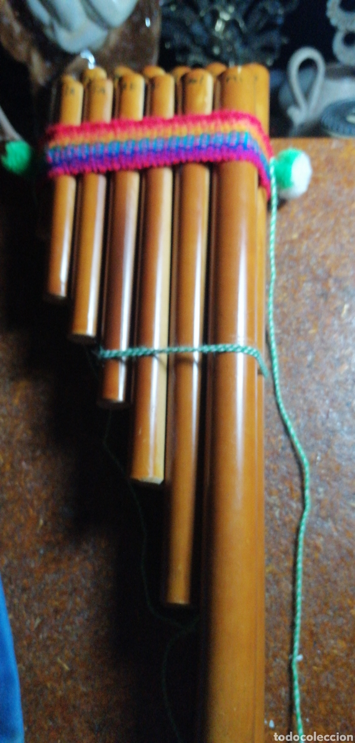 INSTRUMENTO DE VIENTO ANDINO (Música - Instrumentos Musicales - Viento Madera)